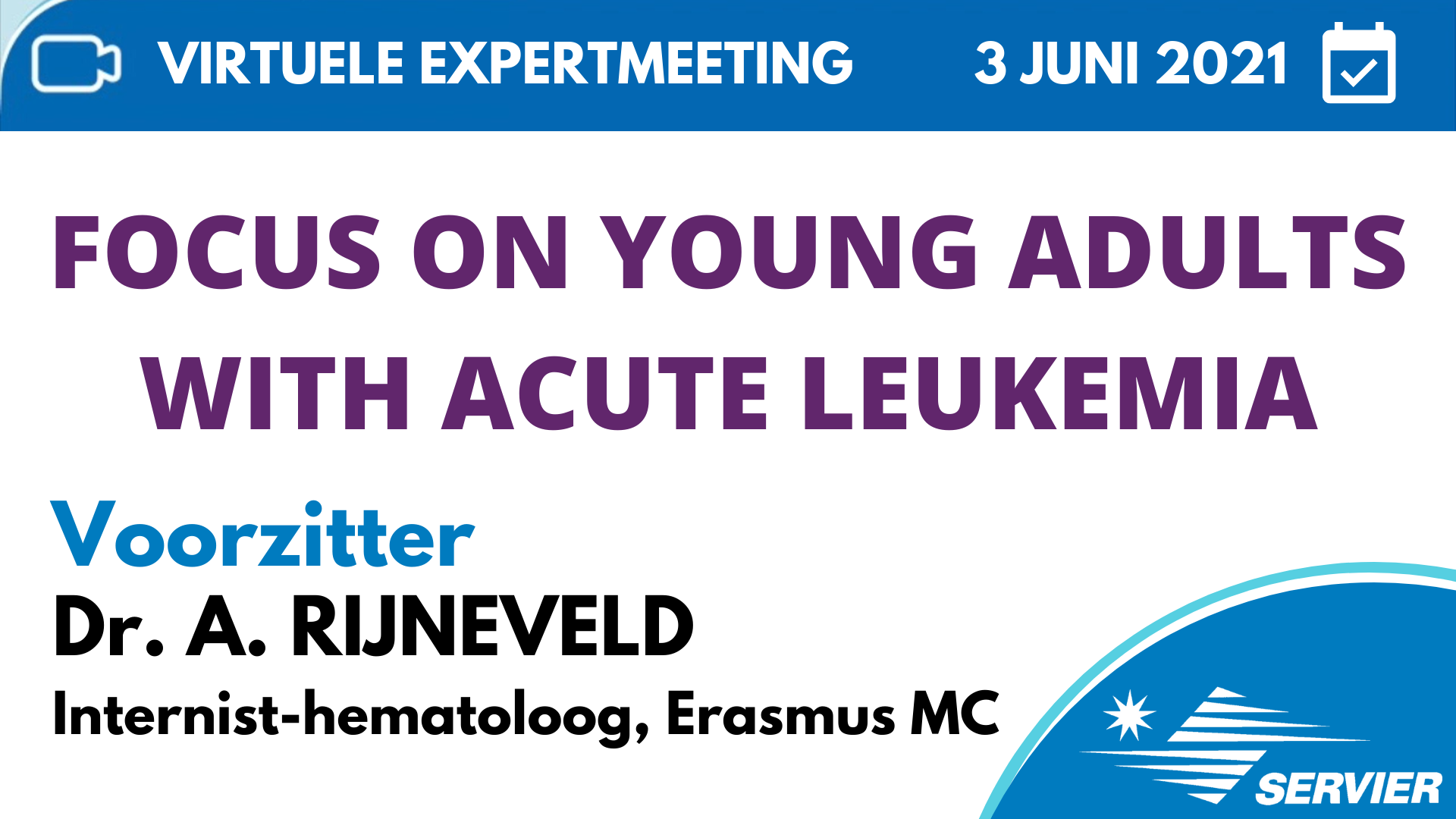 AYA care network focus on young adults with acute leukemia virtuele meeting videocast servier